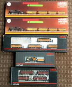 Marklin Z Scale 1220 Mini-club Steam Engines And Passenger Cars Lot