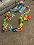 Vtech Go Smart Wheels Tow And Go Garage Disneyandrsquos Fire And Train Station Parts