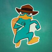 Disney Phineas And Ferb Perry The Platypus 12 Wall Clock
