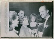 1969 Philip Naval Officers Assoc Dinner Toronto Royalty Wirephoto 8x10