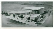 1966 Photo Bakersfield College Kern County Drawing Design Southwest Business 4x8