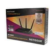 Nob Netgear Nighthawk Wi-fi Router With Wireless Speed Up To 2300 Mbps In Black