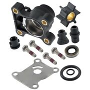 Impeller Water Pump Repair Kit With Housin For Johnson Evinrude 9.9-15hp 394711