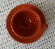 Fiestaware Paprika Coffee Cup And Saucer Color Retired In 2016