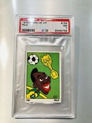1973 Panini Ok Vip Pele Psa 7-extremely Hard Find And Prices Soaring ⚽️🔥
