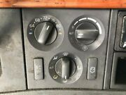 2006 Volvo Vnl Heater And Ac Temp Control 3 Knobs 2 Buttons