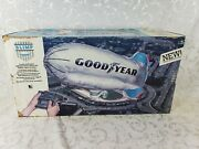 Vintage Goodyear Blimp - Rc Radio Controlled Tethered - Motor Powered 1987 - New