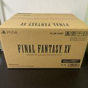 Ps4 Square Enix E-store Limited Final Fantasy 15 Ultimate Collector''s Japan 88