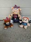 Nwt Vintage 90and039s Harley Davidson Plush Pigs And Bear