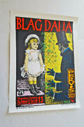 Blag Dahlia Poster Kozik Signed Limited Artists Proof A/p Edition 1994 23 X17