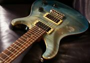 Paul Reed Smith Prs Ce Maple 24 Royal Blue 1997 Guitar From Japan Jva66