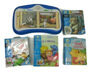 Little Touch Leap Pad Infant And Toddler Leap Frog System With 4 Interactive Books