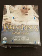 The Lord Of The Rings The Return Of The King Factory Sealed Trading Card Box