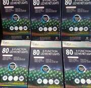6 Boxes Of Color Sync Led Blue To White Sync Color Change Net Lights -8 Settings