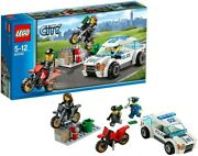 Lego City Police Car And Drobow Bike 60042 Toy For Children 5 To 12 Year