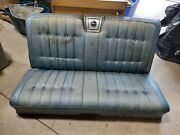 1967 Chevy Impala Caprice 2 Door Back Seat Rear Seat Includes Speaker Cover