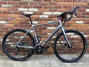 2019 Giant Toughroad Gx2 Xl Aluminum Finish Gravel Bicycle Hard To Find