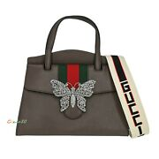 New Authentic 505342 Totem Small Leather Butterfly Satchel