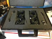 Mic Akg C98 Microphone Set Of 4 Lexicon Room Eq With Stands Clips Manuals Cd