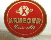 Vintage 12 Krueger Beer Tray From The 40sand039