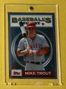 2013 Topps Finest Baseball Mike Trout Sp 1993 Throwback Rare Angels '93 Insert