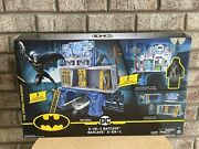 Batman 3-in-1 Batcave Playset W/ Exclusive 4andrdquo Action Figure And Battle Armor