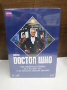 Blu-ray Doctor Who The Christmas Specials Gift Set Tardis Bluetooth Speaker New