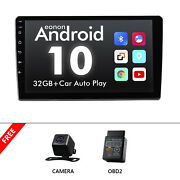 Obd+cam+9 Android 10 Car Stereo Gps Navigation Radio Player 2din Wifi Usb Fm Am
