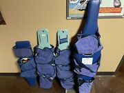 Olympic Papoose Boards Small, 2x Regular, Large. Straps As Shown