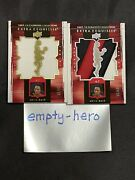 Chris Bosh 2009-10 Upper Deck Exquisite Extra Game Used Jersey 4 Patch Sp Set