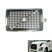 Grille Chrome Includes Bug Screen And Cross Bar For Volvo Vnl 2004-2015 20505759