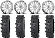 Msa Blade 20 Wheels Chrome 35 Outback Maxand039d Tires Can-am Defender