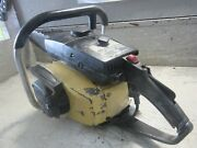 Vintage Collectible Mcculloch Super Pro 81 Chainsaw With 20 Bar