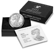 2021-w American Eagle Type 2 One Ounce Silver Proof Coin 21ean Lot Of 3 Conf