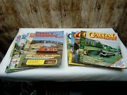 12 Vintage Canal And Riverboat Magazines 1 Complete Year 1982 Narrowboat Barge