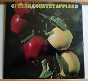 The Washington Apple-fresh Country Apples Rare Lp Ex Shrink Delicious Records