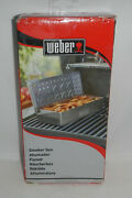 Nib Weber Bbq Barbeque Grill 7576 Universal Stainless Steel Smoker Box