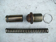 Porsche 944 / 944 Turbo - Oil Pressure Relief Valve -and03986 And Earlier 3-piece Oprv