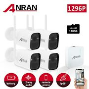 Anran 3mp Wireless Security Smart Camera System Outdoor Wirefree Battery Powered