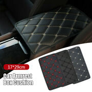 In-car Armrest Pad Cover Center Console Box Pu Leather Cushion Mat Accessories