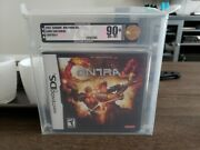 Contra 4 Nintendo Ds Vga Graded 90 Gold Mint Archival Uv Protected Box Y-folds