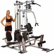 Home Gym With Leg Press Powerline By Body-solid P2x 7 Stations 210 Lb Stack