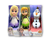 Frozen 2 Mini 3.5 Doll Figure Elsa The Snow Queen + Young Anna + Olaf Set Of 3
