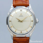 1950 Antique Omega Automatic Analog Ref.2635-1 Cal. 351 Half 35mm Rotor