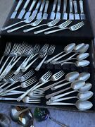1923 Century Pattern Holmes And Edwards Real Silver Super-plate Silverware Vintage