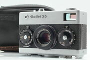 """【""""rare First Model S/n 300xxxx Near Mint】 Rollei 35 Germany Silver From Japan"""