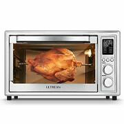 32 Quart Convection Air Fryer Toaster Oven Combo With Rotisserie Toaster