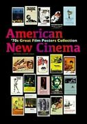 American 70's Cinema Movie Great Film Posters Collection Book 9784866471525