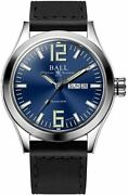Authorized Dealer Ball Nm2028c-l12a-be Engineer Iii King 43mm Case Leather Watch