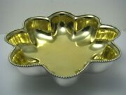 Towle Sterling Silver Bowl Strawberry Dish Candy Dish By Towle C1900s Excel Cond